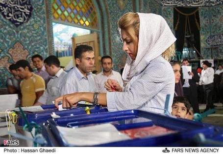 عکس مردم در انتخابات